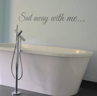 leonora hammond Sail Away With Me...Wall Sticker