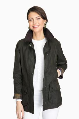 Barbour Barbour® Classic Olive Beadnell Wax Jacket $399 thestylecure.com