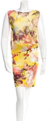 Jean Paul Gaultier Sleeveless Floral Print Dress $110 thestylecure.com