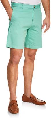 Tailorbyrd Men's Flat-Front Shorts