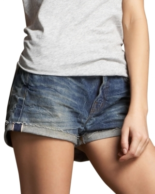 J Brand Jeans Roll-Up Denim Shorts