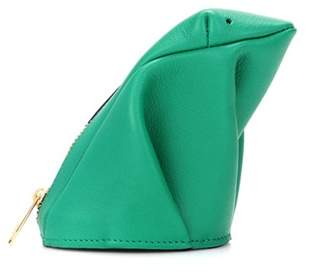 Loewe Frog leather pouch