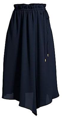 Donna Karan New York Donna Karan New York Women's Asymmetric Draped Midi Skirt