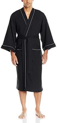 Izod Men's Nailhead Texture Knit Robe