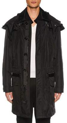Tom Ford Men's 2-in-1 Parka Coat with Detachable Shearling-Lined Hood