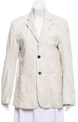 Zadig & Voltaire Distressed Notch-Lapel Blazer