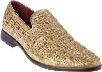 Shoes Picker sparko11 Mens Slip-On Fashion-Loafer Sparkling-Glitter Dress-Shoes