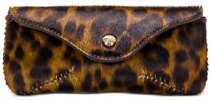 Patricia Nash Ardenza Leather Leopard Sunglasses Case