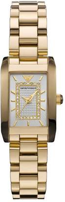 Emporio Armani Armani AR3172 Stainless Steel Case Gold Tone Stainless Steel Mineral Women's Watch