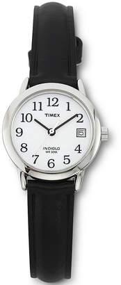Timex Easy Reader Womens Black Strap Watch