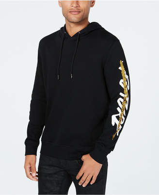 INC International Concepts I.N.C. Men's Sequin Graphic Hoodie, Created for Macy's