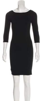 Alice + Olivia Half-Sleeve Mini Dress