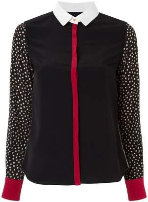 GUILD PRIME colour-block blouse