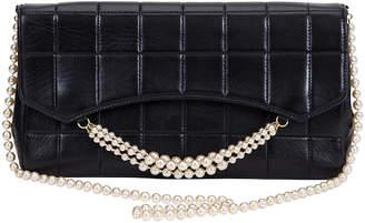 One Kings Lane Vintage Chanel Black & Pearl Evening Bag