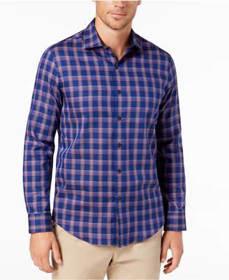 Tasso Elba Bossini Plaid Shirt, Created for Macy's