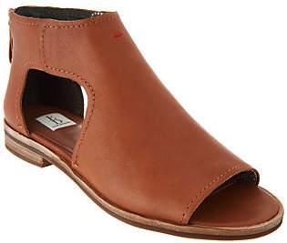 ED Ellen Degeneres Leather Cut-out Sandals -Surah