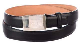 Tiffany & Co. Leather Adjustable Belt