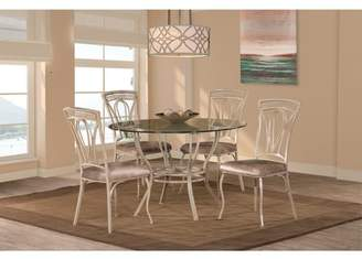 Hillsdale Furniture Napier 5-Piece Round Dining Table Set