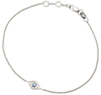 Sydney Evan Mini Diamond Evil Eye Bracelet