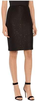 St. John Alla Knit Pencil Skirt