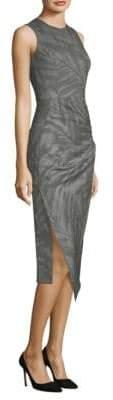 Michael Kors Palm Leaf-Print Dress