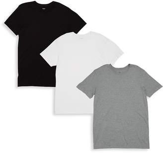 2xist Men's Three Pack Cotton Crewneck