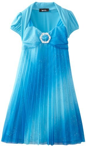 Amy Byer Girls 7-16 Pleated Dress