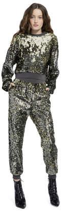 Alice + Olivia Pete Embellished Sweatpants