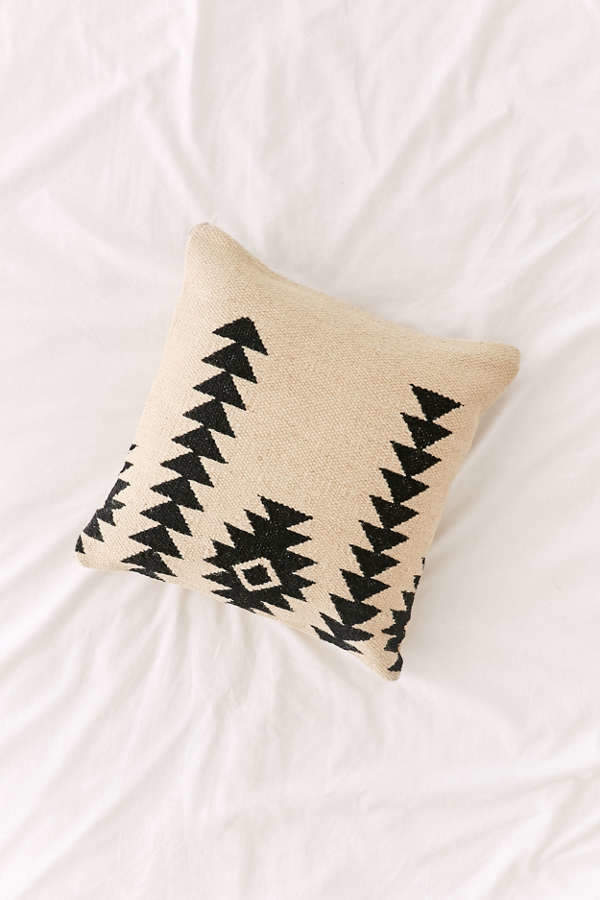 Southwestern Minimal Kilim Throw Pillow