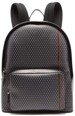 Dunhill Engine Turn Technical Canvas Backpack - Mens - Grey