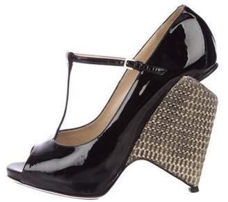 Nicholas Kirkwood Patent Leather Sandals