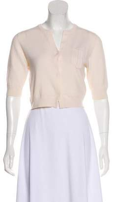 Brunello Cucinelli Cashmere Short Sleeve Cardigan