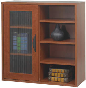 URBAN RESEARCH Safco Products Safco Apres Modular Storage Single Door/Open Standard Bookcase