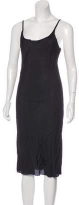 Cp Shades Sleeveless Midi Dress
