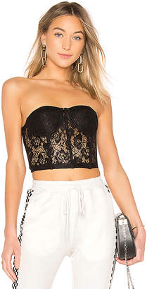 by the way. Alice Strapless Lace Bustier