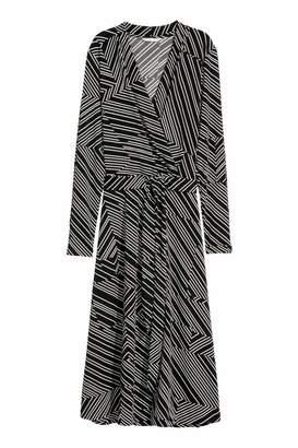 H&M CrÃaped Jersey Dress