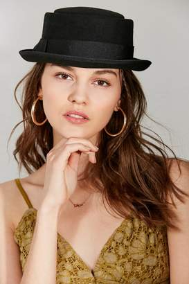 Urban Outfitters Wool Porkpie Hat