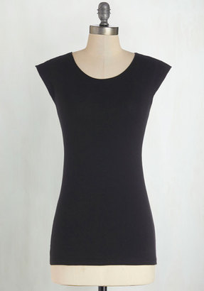 Downeast Basics Tanks Very Much Cotton Top in Black $14.99 thestylecure.com