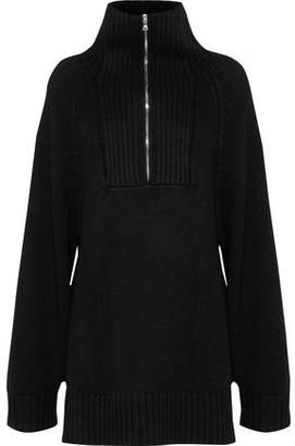 Derek Lam Oversized Cashmere Turtleneck Sweater
