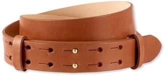 L.L. Bean L.L.Bean Signature Double-Post Leather Belt