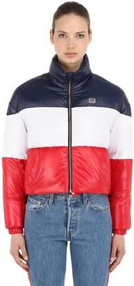 Levi's Tricolor Nylon Down Jacket
