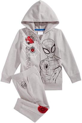 Marvel Little Boys Spidey Graphic Sweatsuit