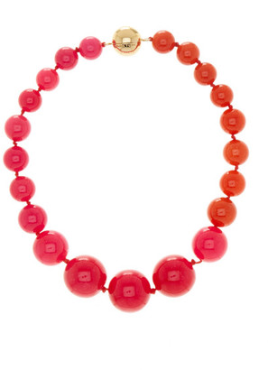 Trina Turk Large Two-Tone Graduated Bead Necklace $98 thestylecure.com