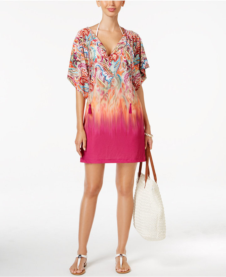 Lauren Ralph LaurenLauren Ralph Lauren Sunrise Printed Tunic Cover-Up