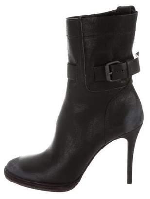 Haider Ackermann Varo Leather Ankle Boots