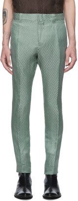Haider Ackermann Green Athenaes Casual Trousers