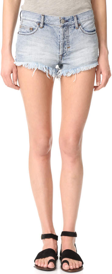 Free People Soft & Relaxed Cutoff Shorts