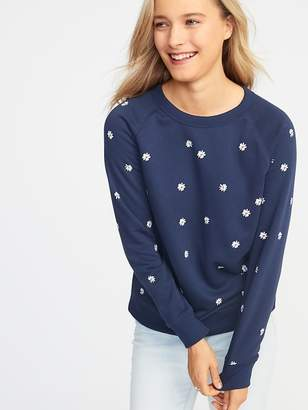 Old Navy Relaxed French Terry Sweatshirt for Women 8d5a3e82f