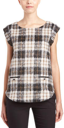 Julie Brown Wool-Blend Top