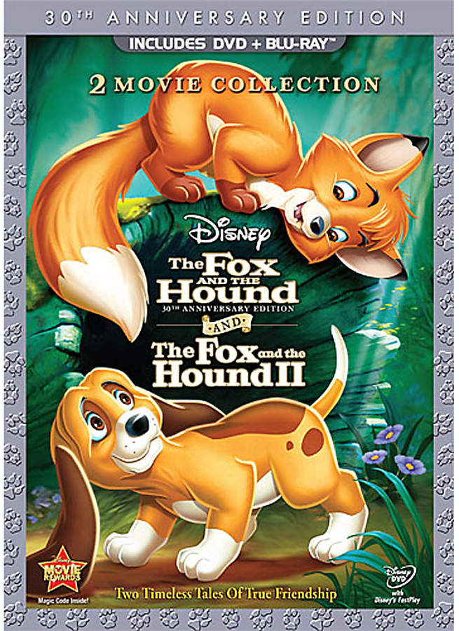 Disney The Fox and the Hound/The Fox and the Hound II - 3-Disc DVD and Blu-ray Set